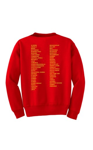 Red Africa Forever Sweatshirt