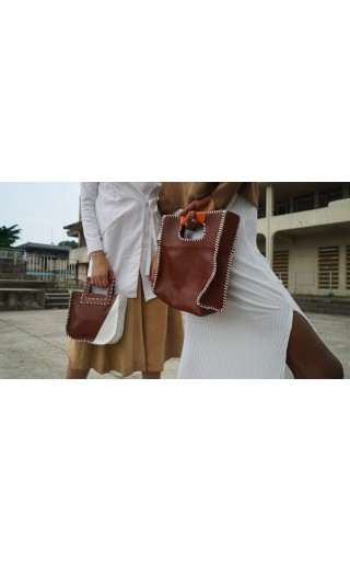 The Nkiru Bag Brown
