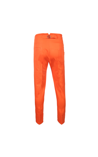 Monochrome Carpenter Trousers (Orange)