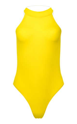 Yellow One Piece Swimsuit