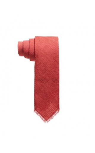 Solid Dyed Tie Red