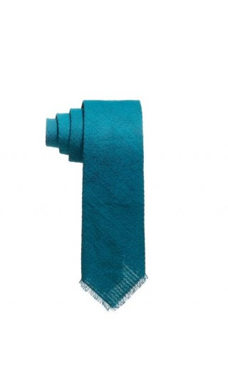 Solid Dyed Tie Green