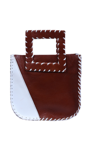 The Nwadi Mini-Tote Brown