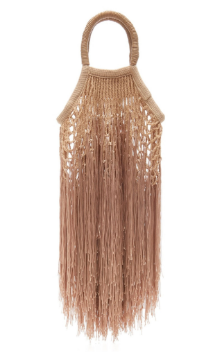 Caramel Mini Fringe Bag