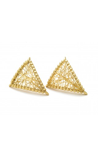 Sybil Shield Earring