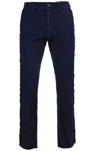 NAVY BLUE DISTRESSED PANT