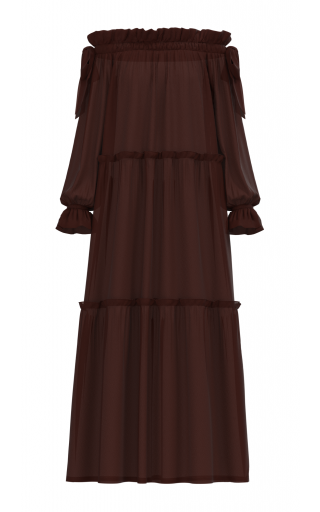 Adaeze dress - Brown