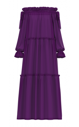 Adaeze Dress - Purple
